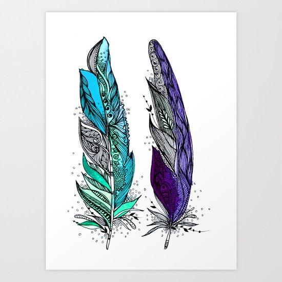 Beauty and Grace 2 Art Print