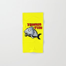 Terror fish Hand & Bath Towel