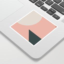 Orbit 05 Modern Geometric Sticker