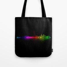 Toronto Rainbow Reflection Tote Bag