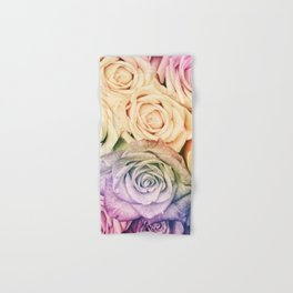 Some people grumble - Colorful Roses - Rose pattern Hand & Bath Towel