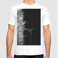 reaching out Mens Fitted Tee White MEDIUM