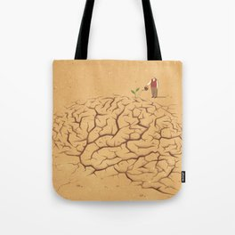 Dry Brain Tote Bag