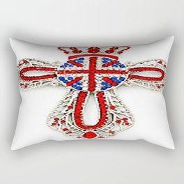 Diamonds UJ Cross Rectangular Pillow