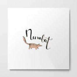N like numbat Metal Print