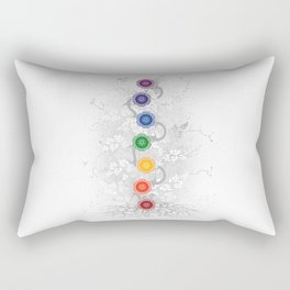 Chakra Tree Art Rectangular Pillow