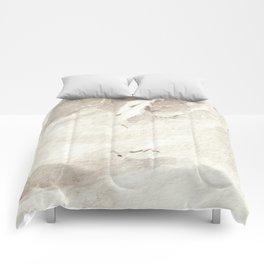 Clear Quartz Crystal Watercolor Comforters