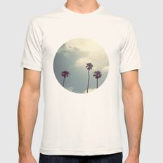 Feel The Sky Natural SMALL Mens Fitted Tee