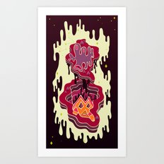 Dimensio B Art Print