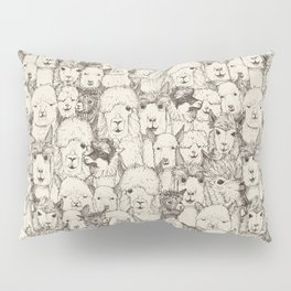 just alpacas natural Pillow Sham