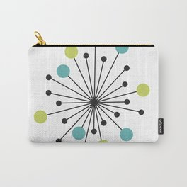 Atomic Age Nuclear Motif — Mid Century Modern Carry-All Pouch