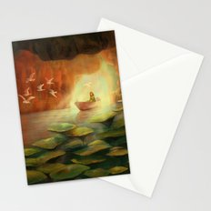 Into the Cave Stationery Cards