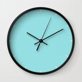 Island Paradise | Pantone Fashion Color Spring : Summer 2017 | Solid Color Wall Clock