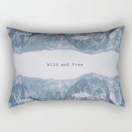 Wild and Free Rectangular Pillow