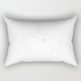 Dogicorn Rectangular Pillow