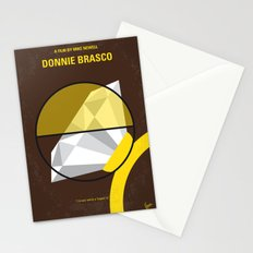 No766 My Donnie Brasco minimal movie poster Stationery Cards