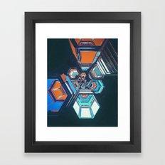 HEXOUT (01.23.16) Framed Art Print
