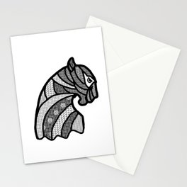 Panther's head Stationery Cards