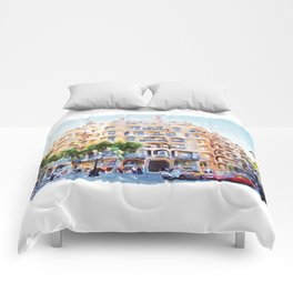 La Pedrera Barcelona Comforters