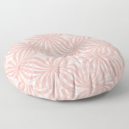Layers of Peach Floor Pillow
