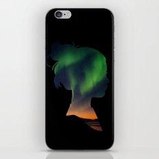 Dreaming Girl iPhone & iPod Skin