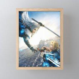 Final fantasy Framed Mini Art Print