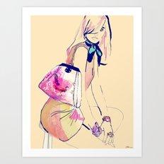 Turning L.A. /// Natasha Art Print