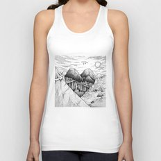 Wild At Heart Unisex Tank Top