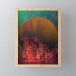 Fantastic Planet / Urban Fantasy Framed Mini Art Print