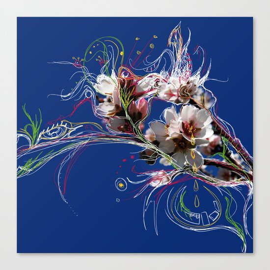 Articulated Bit Canvas Print
