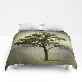 Pine Glade Cotton Field Tree - Landscape Comforters