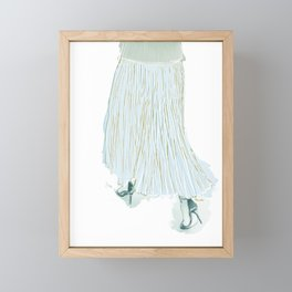 Stylish Movement Framed Mini Art Print