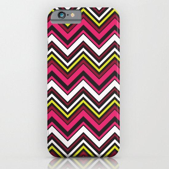 Pink Chevron iPhone & iPod Case