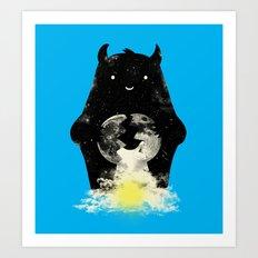 Mr. Daybreak Art Print
