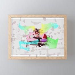 Lady on Sofa Framed Mini Art Print