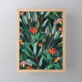 Midnight Garden V Framed Mini Art Print