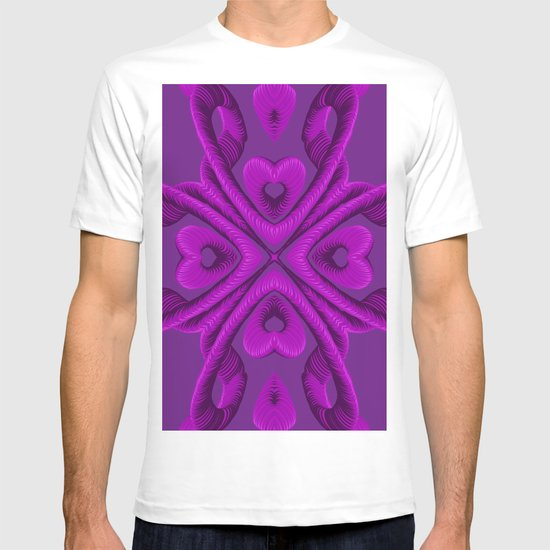 Hot Pink Hearts T-shirt