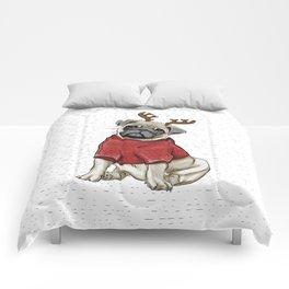 Reindeer Pug Comforters