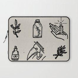 Apothecary Sketches Laptop Sleeve