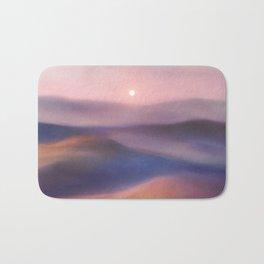 Minimal abstract landscape II Bath Mat