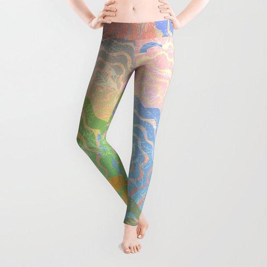 Summer Pattern #7 Leggings