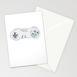 Old School Controller 02 Stationery Cards