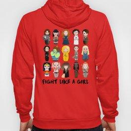 Kokeshis Fight like a girl Hoody