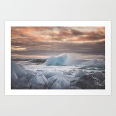 The Ice Cold Heaven Art Print