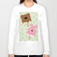 bar Long Sleeve T-shirts featuring Candy bar by SANTA