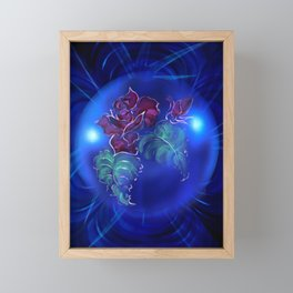 Abstract in perfection - Fertile Imagination Rose 2 Framed Mini Art Print