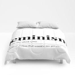 Feminism Comforters