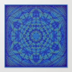 Geometraglyph IV Canvas Print