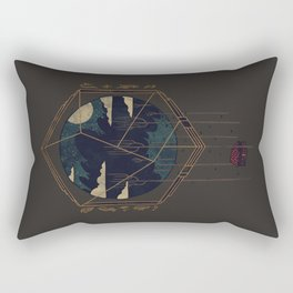 The Dark Woods Rectangular Pillow