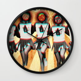 Mrs. Sippy Cup Tour Poster Wall Clock